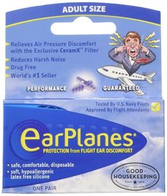 "Promising review: ""I love this product! Every couple of trips, no matter what tricks I try, I cannot clear my ears. The ear pain is immense at takeoff (I completely understand why those babies and toddlers wail!), and then I'm hard of hearing for days. With these, that has never happened. A few other people near me had ear pain and I did not, so I was very grateful I'd bought this product."" —Amy Clark Get a pack of three from Amazon for $14.25 or one pair from Walmart for $6.84."