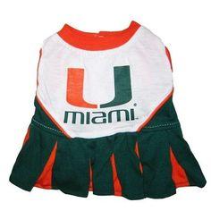 Miami Hurricanes Cheer Leading XS