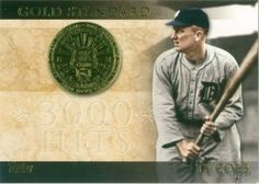 2012 Topps Gold Standard Ty Cobb Card.