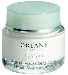 Orlane Paris Hydro-Matifying Care - this is not a moisturizer.  However, it leaves your skin with a wonderful matte look.  I don't use it daily, just on special occassions when I want skin to appear perfect.