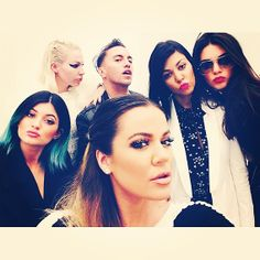 The Kardashian-Jenner Clan Instagram Kimye's Wedding Weekend - The Gang's All Here! from #InStyle