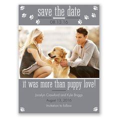 Puppy Love - Mercury - Save the Date