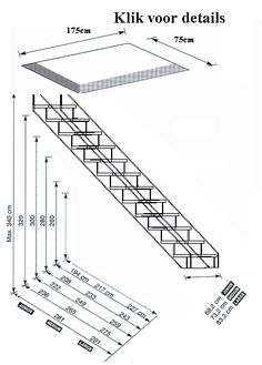 Modular Staircase, Loft Staircase, Railing Design, Staircase Design, Stair Plan, Modern Exterior Doors, Tiny House Stairs, Modern Barn House, Trap Door