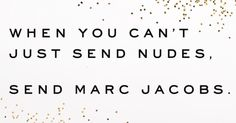 I mean... #marcjacobs