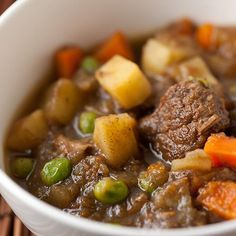Warm your chilled bones with our lean & hearty Winter Bison Stew!   Clean Eating