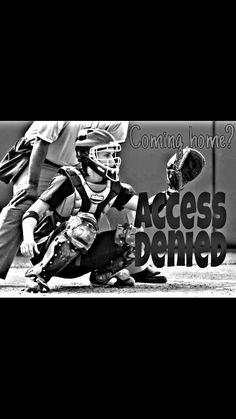 Softball ♥♡♥ – Sport is lifre Softball Catcher Quotes, Softball Quotes, Softball Pictures, Softball Players, Girls Softball, Fastpitch Softball, Baseball Mom, Softball Stuff, Softball Things