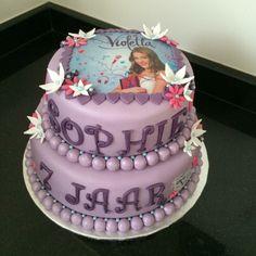 Violetta taart cake