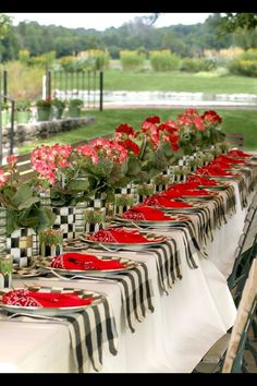 Mackenzie child's tablescape