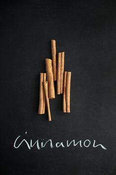 Cinnamon - spicy, aromatic, warming - a versitle spice for sweet and savoury dishes.
