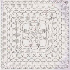 Loza: crochet square motif.: