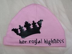 Baby Girl Beanie  for your little Princess   by TheQueensDaughters, $10.00