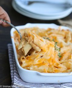 Caribbean Baked mac and cheese – Cheesy and Comforting, with tons of flavor and no cream