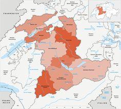 Location in Switzerland Map of Appenzell Ausserrhoden CRISTIAN