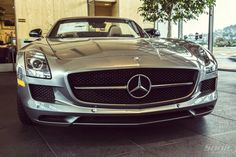 A view you could get used to.  Mercedes-Benz