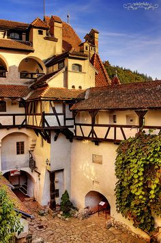 Residence of Dracula «Bran Castle, Transylvania, Romania Places Around The World, Oh The Places You'll Go, Travel Around The World, Places To Travel, Places To Visit, Around The Worlds, Beautiful Castles, Beautiful Buildings, Chateau Moyen Age