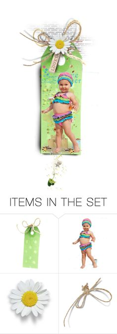 """"""""""" I´m Ready For Summer """" :) (summer bookmark)"""" by mari-777 ❤ liked on Polyvore featuring art, Summer, funny, bookmark and child"""