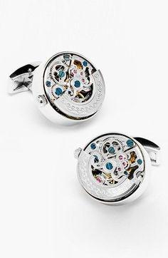 Ravi Ratan | 'Kinetic Watch' Cuff Links | kravat-kol-dugmesi