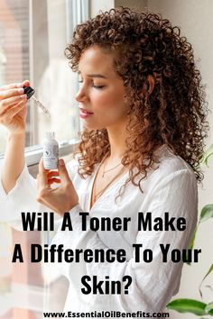Will A Toner Make A Difference To Your Skin? #Toner #Skincare #NaturalSkincare #EssentialOils Holistic Medicine, Holistic Healing, Holistic Treatment, Essential Oils For Skin, Younger Skin, Anti Aging Tips, Acne Prone Skin, Perfect Skin, Health Tips