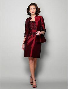 Venta de vestidos rojos baratos