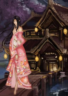 Kimono by sachaXD on DeviantArt