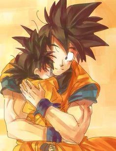 Goku y Goten!❤️