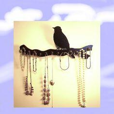jewelry holder   necklace rack   organizer   by LangtonStudio