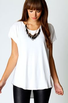 Love this white top for Europe