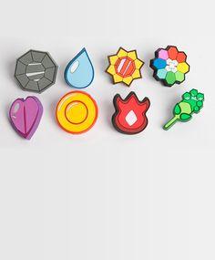 Gen 1: PVC  http://sanshee.com/store/product/gym-badges-gen-1-soft-rubber