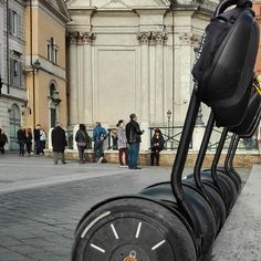 Rome, Italy / A good way to get around the narrow streets of the Eternal City