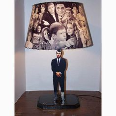 Classic Twilight Zone Rod Serling Lamp And Lamp Shade With Over 70 Images And…