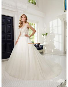 RONALD JOYCE Luxuriöse Dramatische Traumhafte Brautkleider aus Organza