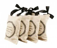 """Coco Quote Lavender Sachets - """"A girl should be two things:  classy and fabulous."""""""