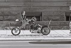 papa-bear-69: big-dewlittle: 1968-69 Wellington St. girl with Harley-Davidson by Ross Dunn on Flickr. hey mama you want a ride