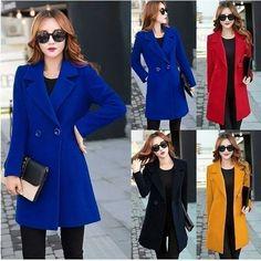 Casual Sweaters, Asian, Coat, Jackets, Beautiful, Women, Down Jackets, Sewing Coat, Peacoats