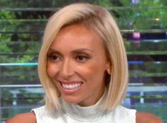 Blonde ambition giuliana rancic bleached her brunette bob to an giuliana rancic recently changed up her look by getting temporary hair extensions but now it pmusecretfo Gallery