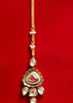 Kundan Rubi Maang Tikka (Click To Buy | Only Rs 1,199)