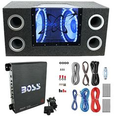 "Pyramid BNPS122 12""1200W Car Audio Subwoofer + Box + 1100W Mono Amp +Wiring Kit http://caraudio.henryhstevens.com/shop/pyramid-bnps122-121200w-car-audio-subwoofer-box-1100w-mono-amp-wiring-kit/ https://images-na.ssl-images-amazon.com/images/I/51HgGxrU%2BPL.jpg"