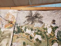 In John Wolseley's studio Art Courses, Japanese Paper, Art File, Australian Artists, Art Portfolio, Artist At Work, Art World, Watercolor Paper, Vintage World Maps
