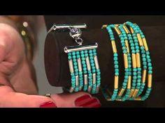 Bronzo Italia Multi-strand Hematite Bead & Satin Station Bracelet with Courtney Cason - YouTube