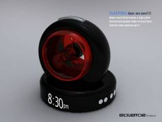 Water Spray Alarm Clock
