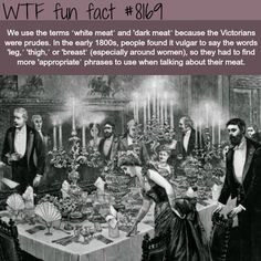 "Why we use the terms ""white meat"" and ""dark meats"" - WTF fun fact"