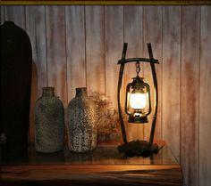 Сарай фонарь старинные антикварные настольные лампы керосиновая Лампа настольная освещение железо стекло латунь