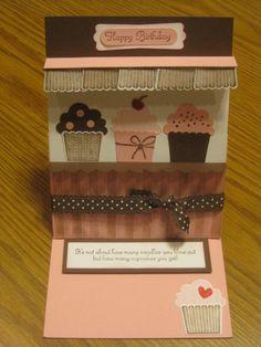 cupcake store Birthday card Andi Potler