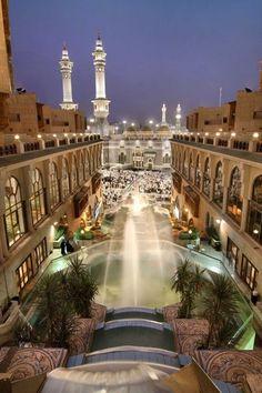 Masjidil Haram from Hilton's view! Subhanallah. Mashallah. Inshallah.