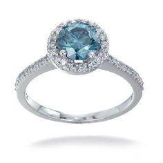 1.30 CT Blue Diamond