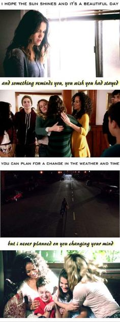 The Fosters with Last Kiss. This is simply awesome
