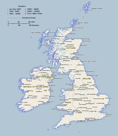 Scotland large color map VERY MUCH want to go visit the land of