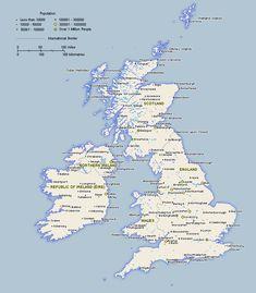 Scotland Map Region Area  Maps  Pinterest  Scotland City and