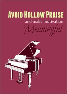 How Piano Teaches Can Escape Hollow Praise
