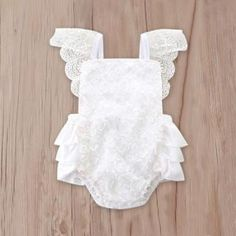 Mother & Kids 2018 New Fashion Newborn Kids Baby Girl Lace Backless Cute Sweet Green Pink Bowknot Bodysuit Clothes Outfit Summer 0-24m Quality First